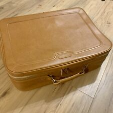 "Vintage Samsonite Luggage Leather 26""/19""/7.5"""