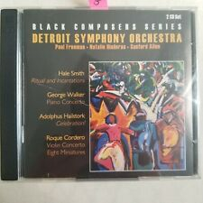 OOP Black Composers Series, Detroit Symphony Orchestra 2 CDs *VG*