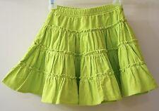 Brand New Hanna Andersson Key Lime Corduroy Twirl Skirt ~ Sz 90, 2-3.5 yr.
