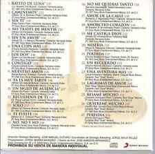 rare BOLERO 60s 70s CD slip LOS PANCHOS rayito de luna CAMINEMOS sin ti PERFIDIA