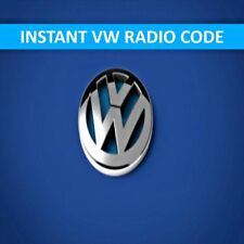 VW Stereo SAFE PIN Code Unlock Decode Service for RCD Beta RNS 310 RNS 315