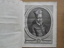LETRES DU CARDINAL D'OSSAT PARIS, CHEZ JEAN BOUDOT, 1698. VELLUM BINDING. 2 VOL