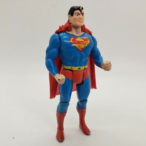 Superman with Cape DC Super Powers Vintage 1984 Kenner 4.75 inch Action Figure