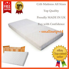 NURSERY BABY QUILTED BREATHABLE COT CRIB CRADLE PRAM MATTRESS 89 X 43 X 4 CM