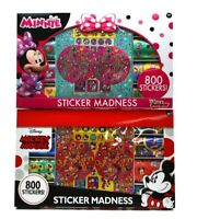 Disney Mickey Mouse or Minnie Sticker Madness - 800 Stickers (Brand new In Box )