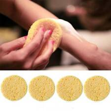 5pcs Facial Soft Puff Washing Cleansing Sponge Pad Natural Wood Fiber Makeup Pad