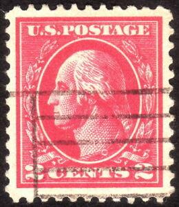 1920, US 2c, Washington, Used, Superb, Sc 528B