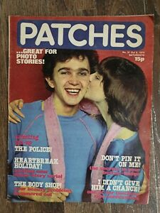 Vintage Patches Magazine 6 Oct 1979 No 31 The Police poster Debbie Harry Squeeze