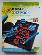 Crayola Digitools 3D Tech Pack 3-D App incluido Ojo impresionantes diseños en su iPad
