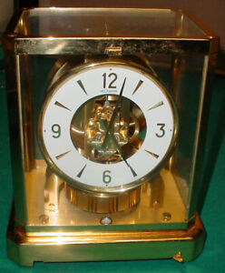 GORGEOUS LE COULTRE 528-8 ATMOS SWISS CLOCK # 304695 N/R