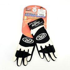 Rawlings Full-Grain Leather Batting Gloves Baseball Youth Medium 350Y 10 NEW