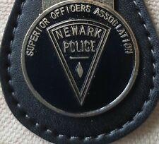 Superior Officers Association of Newark ~ Key Fob Keychain ~ NEWARK ~ NEW!