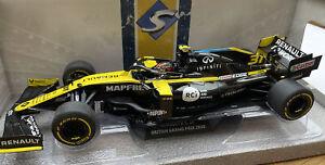 Renault Sport RS20 F1 diecast race car Ocon British GP 2020 1:18 SOLIDO 1806801