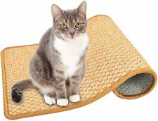 New listing Cat Scratching Mat, Anti-Slip Sisal Scratcher Pad, No More Torn.