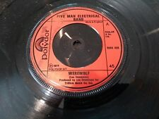 """FIVE MAN ELECTRICAL BAND """"WEREWOLF"""" RARE 1974 7"""" (RED INJECTION LABELS)"""