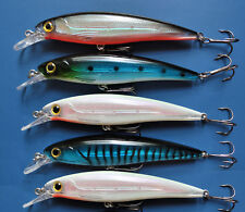 (5 - PACK) Rapala X-Rap Style Crankbait/Jerkbait Fishing Lures