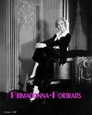 GRETA NISSEN 8X10 Lab Photo 1920s Elegant Actress, Silent Era Piano Portrait