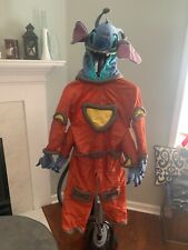Disney Store Lilo And Stitch Orange Space Costume Kids 4-6T Halloween B