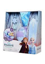Frozen II 2 Elsa FROST ACTION SLEEVE Ice Power Glow in the Dark Necklace Lights