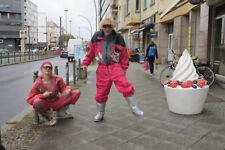 Ninety eight  peralp Skioverall Skianzug 80er True VINTAGE Overall ski suit pink