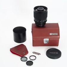 Canon Tokina 500MM F8 Reflex Manual Focus Mirror FD Lens With Case