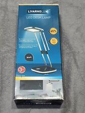 LIVARNO LUX LED Desk Lamp Extendable Non Slip Base 85% Less Energy Saving 250lm