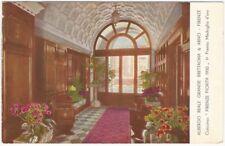 1920s Florence Italy Albergo Reale Grande Brettagna Hotel Postcard