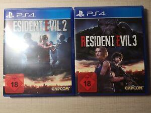 Resident Evil 3 und Resident Evil 2 PlayStation 4