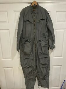 HUGE! Rolen Sportswear MD-3A Nylon Flight Suit, G suit, Vietnam, Air Force Pilot