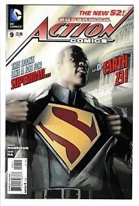 Superman Action Comics #9 - DC Comics / 2012 / Calvin Ellis / Key Issue