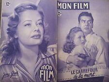 """MON FILM 1949 N 133 """" LE CARREFOUR DE LA MORT"""" avec VICTOR MATURE - COLLEEN GRAY"""