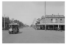 ALBERT PARK Vic Bridport & Montague Sts c1910 Tram modern Digital Postcard