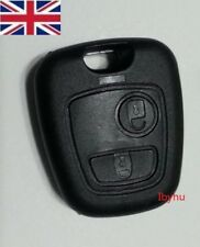 Citroen XSARA PICASSO BERLINGO 2 buttons remote KEY FOB CASE SCREWLESS FITTNG