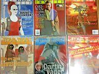 Lot of Star Wars Insider Magazines #36, 39, 40, 41, 45 Plus Bonus Insert