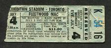 Original 1977 Fleetwood Mac concert ticket stub Toronto Canada Rumours Tour