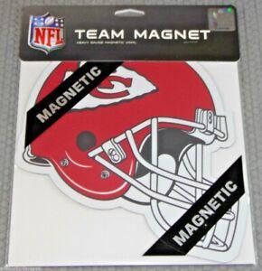 NFL Kansas City Chiefs 8 inch Auto Magnet Helmet Shaped by Fremont Die