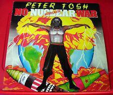 Peter Tosh No Nuclear War LP UK ORIG 1987 Roots Parlophone PCS 7309 VINYL