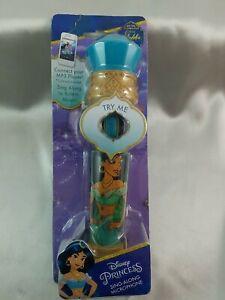 New Disney Aladdin Princess Jasmine Sing-Along Microphone Toy w/ Built-In Music
