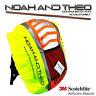 Reflective High Viz Waterproof Cycling Backpack Rucksack Pannier Bag Rain Cover