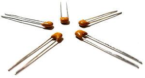 10PCS MultiComp 33 pF, 50 V, ± 5%, Radial Multilayer Ceramic Capacitor - New