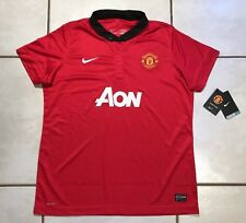NWT NIKE Manchester United 2013 Home Jersey Women's XL