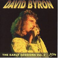 DAVID BYRON ex URIAH HEEP THE EARLY SESSIONS VOL 2 AVENUE RECORDINGS STEREO CD