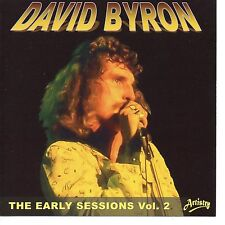DAVID BYRON of URIAH HEEP THE EARLY SESSIONS VOL 2 LIMITED EDITION NEW SEALED CD