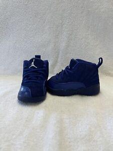 Nike Air Jordan 12 Retro Toddler Boys Deep Royal Blue Shoes~size 4 C
