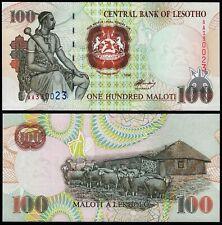 LESOTHO 100 MALOTI (P18a) 1994 UNC