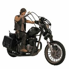 The Walking Dead Daryl Dixon With Chopper Actionfigur 14cm