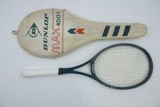 Dunlop Max 400i Tennisracket L3 = 4 3/8 Grafile racquet Graf strung McEnroe 200