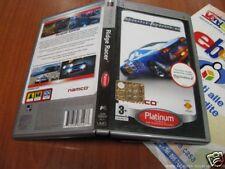GIOCO SONY PSP RIDGE RACER PLATINUM MANUALE CUSTODIA
