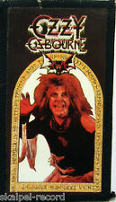 OZZY OSBOURNE Speak To The Devil Vintage Sew On/Photo Card Patch 80`s Rare