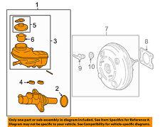 TOYOTA OEM 10-13 Corolla-Brake Master Cylinder 4720102593